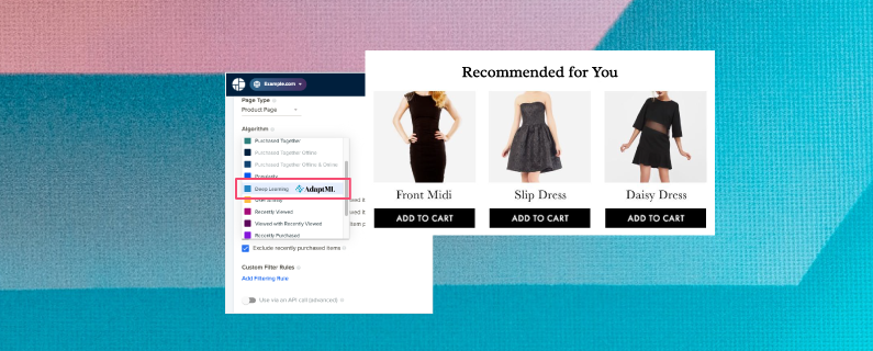 Maximize revenue with a deep learning recommendation system