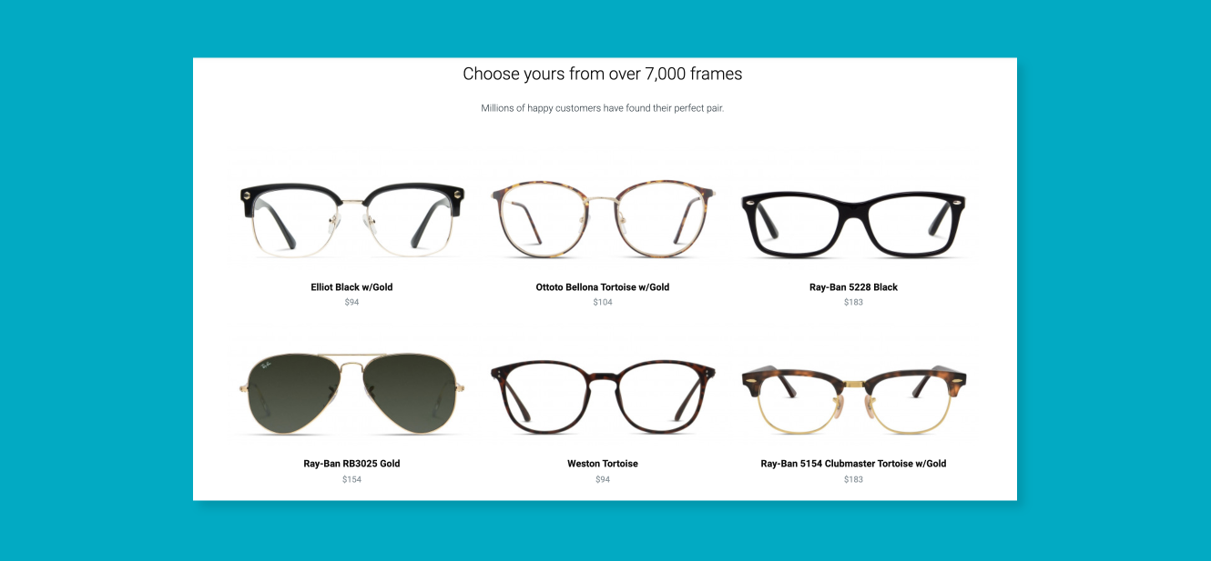 GlassesUSA.com Uses a Deep Learning Algorithm to Recommend Items Predicted to Drive Product Engagement