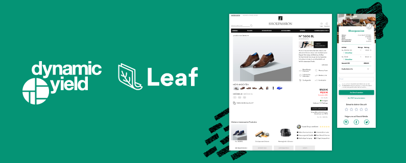 Dynamic Yield & Leaf Announce Integration to Blend In-Store and Online Personalization